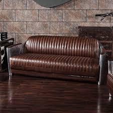 canape vintage cuir canapé vintage 3 places turi à prix d usine designement