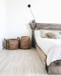 chambre en osier le bois et les couleurs naturelles chambre panier en osier