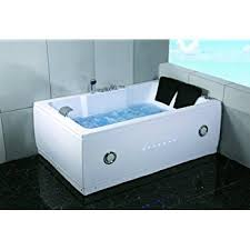 Bathtub Water Level Sensor One 1 Person Whirlpool Massage Hydrotherapy White Bathtub Tub