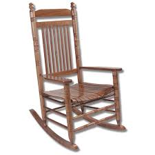 hardwood slat rocking chair rta home furniture indoor