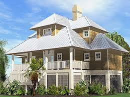 Beach Cottage Home Plans Collection Narrow Lot Beach House Plans On Pilings Photos The