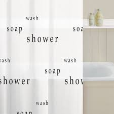 Words Shower Curtain Shower Curtain Curtains24 Co Uk