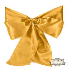 yellow chair sashes 100 satin wedding chair cover bow sashes ribbon tie back sash