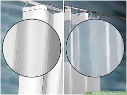 how to buy a shower curtain 11 steps with pictures wikihow