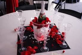 Valentine Home Decorations Decorations Champagne With Ice And Rose Decoration For Inspiring