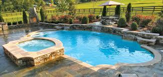 roman style home decor roman shaped pool spa swim up bar cabana firepit custom pool