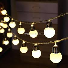 round bulb fairy lights string lights round bulbs outdoor gather party light series 25 ft