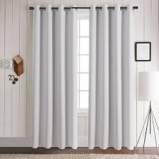 White Eclipse Blackout Curtains Blackout Curtain Liners Amazon Com
