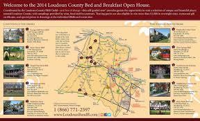 Map Of Loudoun County Va Briar Patch Bed U0026 Breakfast Inn