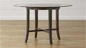 halo ebony round dining table with 48