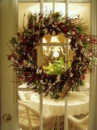 with wreaths for christmas