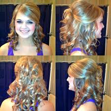 curly hair updo hair my hair prom hairstyles hairstyles makeup prom decor wedding decor cute hair