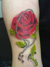 ankle flower tattoo art and designs page 2