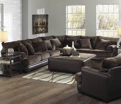 Grey Velvet Sectional Sofa by Curvy Gray Velvet Sectional Sofa In Brown Living Room With French