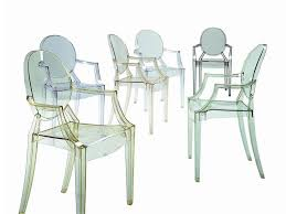 Polycarbonate Chairs Chairs Kartell Louis Ghost Chair