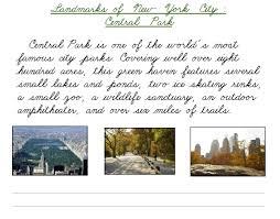 big cities u0026 landmarks u2013 printable cursive u0026 manuscript