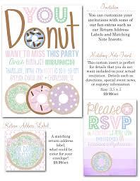 party box design budget friendly donut birthday bash