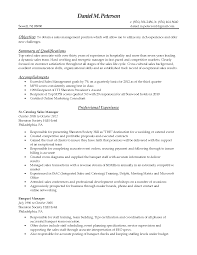 Event Manager Sample Resume by Sample Resume For Event Manager Resume For Your Job Application
