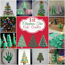 christmas tree art for kids ne wall