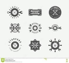 car service logo car service badges and logo stock vector image 58890905