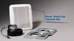 broan bathroom fan replacement broan bathroom fan upgrade kit thedancingparent com