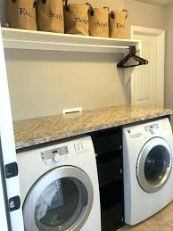 Laundry Room Storage Between Washer And Dryer Storage Between Washer And Dryer Between Washer Dryer Storage