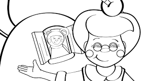 old woman who live in a shoe coloring page mother goose club
