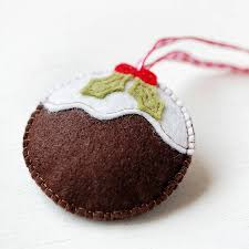 make your own christmas keyring craft kit by clara and macy