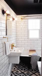 White Bathroom Floor Tile Ideas Capree Kimball U0027s Bathroom Makeover Bathroom Subway Tiles Subway