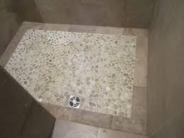 Bathroom Shower Floors Pebble Shower Floor Contemporary Bathroom Chicago By