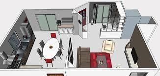 plan cuisine ouverte sur salon plan cuisine ouverte salle manger 4 d233limite respectivement