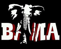 alabama alumni sticker 2 color bama big al crimson tide alabama roll tide vinyl decal