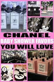 chanel baby shower baby shower favors