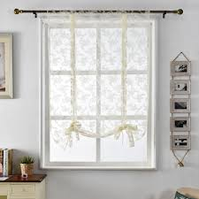 White Kitchen Curtains by Online Get Cheap Textil Kitchen Aliexpress Com Alibaba Group
