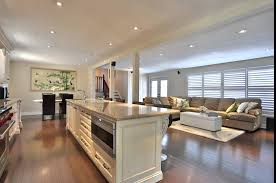 Open Floor Plans With Pictures by Open Floor Plans With Large Kitchens Wood Floors
