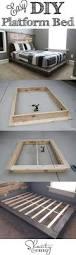 best 25 diy furniture ideas on pinterest diy bed frame build a