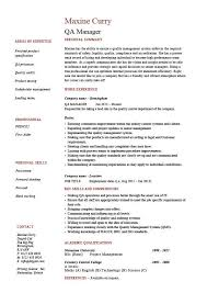 Qa Tester Resume Sample by Download Qa Resume Haadyaooverbayresort Com
