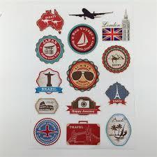 travel stickers images Waterproof removable car sticker world traveller vintage travel jpg