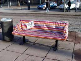creative bench advertising nuffy