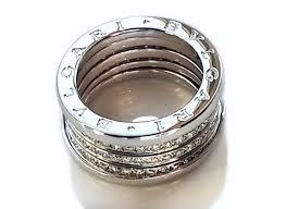 bvlgari rings images Bulgari bvlgari b zero1 4 band diamond ring in 18k white gold jpg