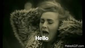 Hello Meme - adele hello gif find share on giphy