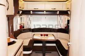 motor home interior interior of motorhome stock photo picture and royalty free image