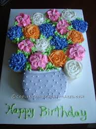 best 25 flower cupcake cake ideas on pinterest birthday