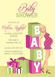 Invitation Card For Baby Electronic Baby Shower Invitations Kawaiitheo Com