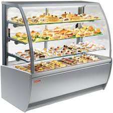 heated food display warmer cabinet case food warming display equipment vulcan catering equipment