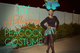Halloween Peacock Costume Diy Halloween Peacock Costume