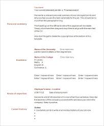 1 page resume template 41 one page resume templates free samples examples formats