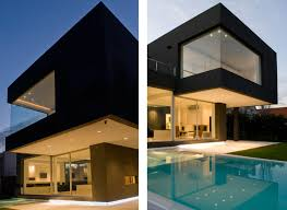 5 Bedroom Double Wide The Black House By Andres Remy Arquitectos Architecture U0026 Design