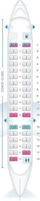 alaska air map seat map alaska airlines horizon air bombardier crj700