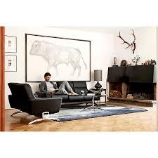 ekornes stressless you u2013 michelle three seater leather sofa
